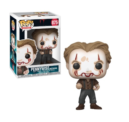 Pop! Movies IT Chapter Two Vinyl Figure Pennywise Meltdown #875