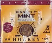 1996-97 Pinnacle Mint NHL Hockey Cards Box (24 Packs)