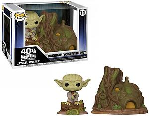 Pop! Town Star Wars Vinyl Bobble-Head Dagobah Yoda with Hut #11