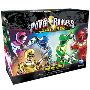 Power Rangers: Heroes of the Grid - Zeo Ranger Pack