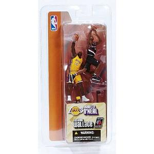 NBA 3 Inch 2-Pack Series 1: Rasheed Wallace & Shaquille O'Neal