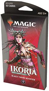 Magic the Gathering: Ikoria - Lair of Behemoths Theme Booster - Black