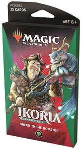 Magic the Gathering: Ikoria - Lair of Behemoths Theme Booster - Green