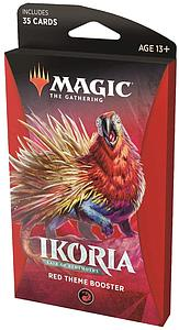 Magic the Gathering: Ikoria - Lair of Behemoths Theme Booster - Red