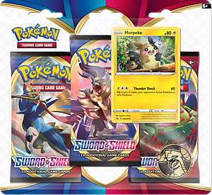 Pokemon Trading Card Game: Sword and Shield 3-Pack Blister