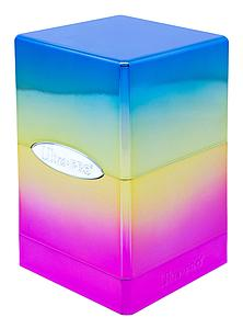 Deck Box Satin Tower: Hi-Gloss Rainbow