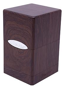 Deck Box Satin Tower: Forest Oak