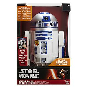"Star Wars Big-Figs Deluxe 12"" Figure R2-D2 (Lights, Sounds, Moves)"