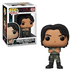 Pop! Television Altered Carbon Vinyl Figure Takeshi Kovacs (Birth Kovacs) #924
