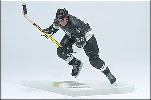 NHL Sportspicks Series 2 Mario Lemieux (Pittsburgh Penguins) Black Jersey [Substandard Packaging]