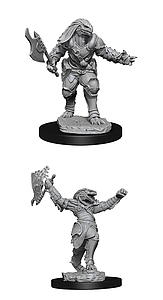 Dungeons & Dragons Nolzur's Marvelous Unpainted Miniatures: Female Dragonborn Fighter