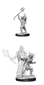 Dungeons & Dragons Nolzur's Marvelous Unpainted Miniatures: Male Human Barbarian