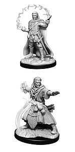 Dungeons & Dragons Nolzur's Marvelous Unpainted Miniatures: Male Human Wizard