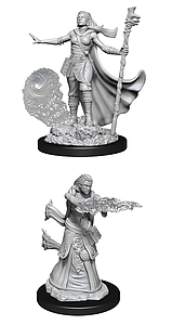 Dungeons & Dragons Nolzur's Marvelous Unpainted Miniatures: Female Human Wizard