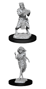 Dungeons & Dragons Nolzur's Marvelous Unpainted Miniatures: Satyr and Dryad