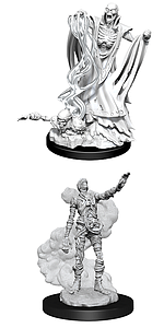 Dungeons & Dragons Nolzur's Marvelous Unpainted Miniatures: Lich and Mummy Lord