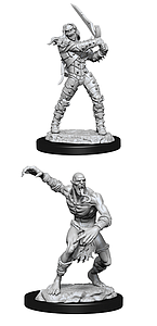 Dungeons & Dragons Nolzur's Marvelous Unpainted Miniatures: Wight and Ghast