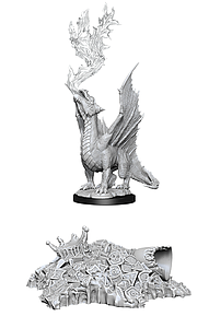 Dungeons & Dragons Nolzur's Marvelous Unpainted Miniatures: Gold Dragon Wyrmling