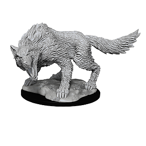 Dungeons & Dragons Nolzur's Marvelous Unpainted Miniatures: Winter Wolf