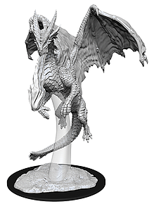 Dungeons & Dragons Nolzur's Marvelous Unpainted Miniatures: Young Red Dragon