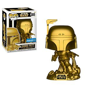 Pop! Star Wars Vinyl Bobble-Head Jango Fett (Gold) #285 Walmart Exclusive