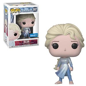 Pop! Disney Frozen II Vinyl Figure Elsa (Dark Sea) #597 Walmart Exclusive