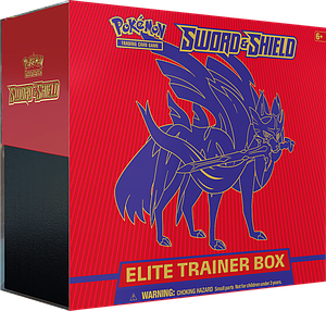 Pokemon Trading Card Game: Sword and Shield Elite Trainer Box - Shield