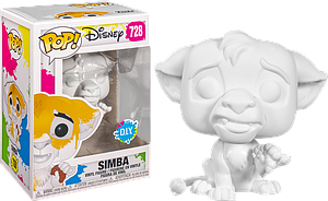 Pop! Disney DIY Vinyl Figure Simba #728