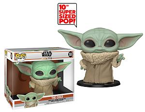 "Pop! Star Wars The Mandalorian Vinyl Bobble-Head 10"" The Child (Baby Yoda)"