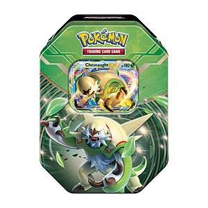 Pokemon XY Legends of Kalos Power Starter Tins Summer 2014: Chesnaught EX