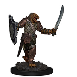 Dungeons & Dragons Icons of the Realms Premium Miniatures: Dragonborn Paladin (Female)