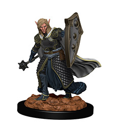Dungeons & Dragons Icons of the Realms Premium Miniatures: Elf Cleric (Male)