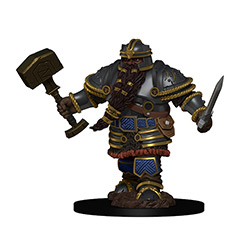 Dungeons & Dragons Icons of the Realms Premium Miniatures: Dwarf Fighter (Male)