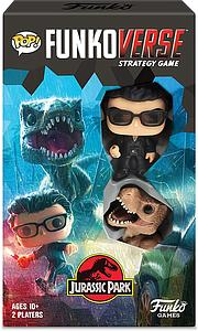 Pop! Funkoverse Strategy Game Jurassic 101 Park 2-Pack