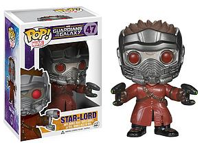 Pop! Marvel Guardians of the Galaxy Vinyl Figure Star-Lord #47 (Vaulted)