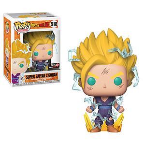 Pop! Animation Dragon Ball Z Vinyl Figure Super Saiyan 2 Gohan #518 GameStop Exclusive (EB Games Sticker)