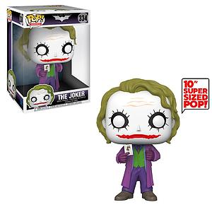 "Pop! Heroes The Dark Knight Vinyl Figure 10"" The Joker #334"