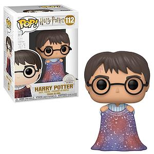 Pop! Harry Potter Vinyl Figure Harry Potter (with Invisible Cloak) #112