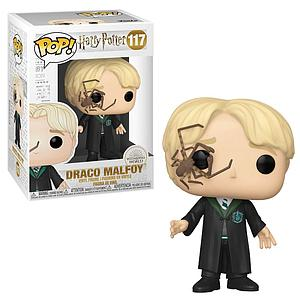 Pop! Harry Potter Vinyl Figure Malfoy with Whip Spider
