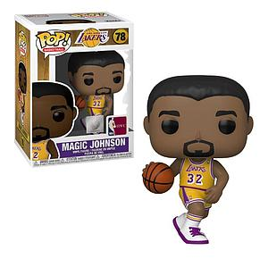 Pop! Basketball NBA Legends Vinyl Figure Magic Johnson (Los Angeles Lakers) #78