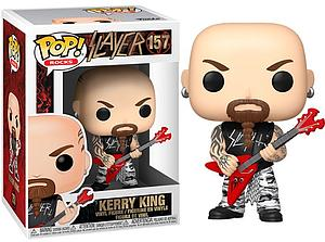 Pop! Rocks Slayer Vinyl Figure Kerry King #157