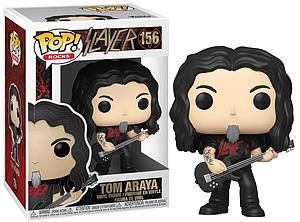 Pop! Rocks Slayer Vinyl Figure Tom Araya #156