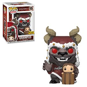 Pop! Holidays Krampus Vinyl Figure Krampus (Hooded) #15 Hot Topic Exclusive