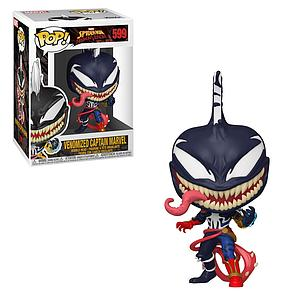 Pop! Marvel Spider-Man Maximum Venom Vinyl Bobble-Head Venomized Captain Marvel #599