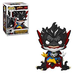 Pop! Marvel Spider-Man Maximum Venom Vinyl Bobble-Head Venomized Doctor Strange #602