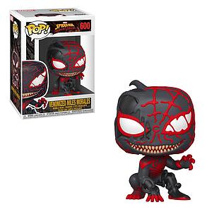 Pop! Marvel Spider-Man Maximum Venom Vinyl Bobble-Head Venomized Miles Morales #600