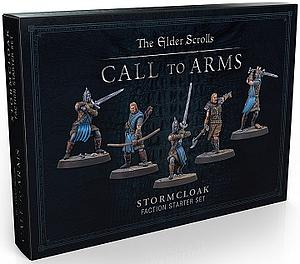 The Elder Scrolls: Call to Arms - Plastic Stormcloak Faction Starter Set
