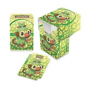 Pokemon Deck Box: Sword & Shield Galar Starters Grookey