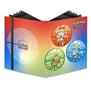 Pokemon 9-Pocket Pro-Binder: Sword and Shield Galar Starters