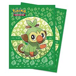 Pokemon Grookey Standard Card Sleeves (66mm x 91mm)